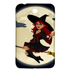 Witch Witchcraft Broomstick Broom Samsung Galaxy Tab 3 (7 ) P3200 Hardshell Case