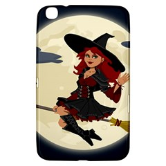 Witch Witchcraft Broomstick Broom Samsung Galaxy Tab 3 (8 ) T3100 Hardshell Case