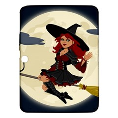 Witch Witchcraft Broomstick Broom Samsung Galaxy Tab 3 (10.1 ) P5200 Hardshell Case