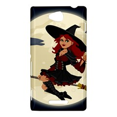 Witch Witchcraft Broomstick Broom Sony Xperia C (S39H)
