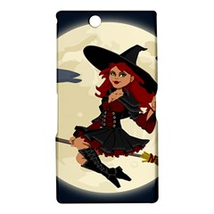 Witch Witchcraft Broomstick Broom Sony Xperia Z Ultra