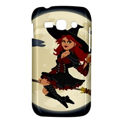 Witch Witchcraft Broomstick Broom Samsung Galaxy Ace 3 S7272 Hardshell Case