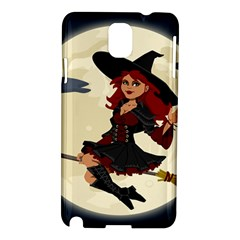 Witch Witchcraft Broomstick Broom Samsung Galaxy Note 3 N9005 Hardshell Case