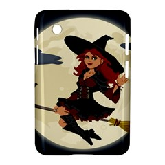 Witch Witchcraft Broomstick Broom Samsung Galaxy Tab 2 (7 ) P3100 Hardshell Case