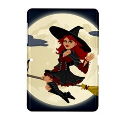Witch Witchcraft Broomstick Broom Samsung Galaxy Tab 2 (10.1 ) P5100 Hardshell Case