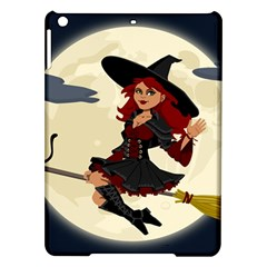 Witch Witchcraft Broomstick Broom iPad Air Hardshell Cases