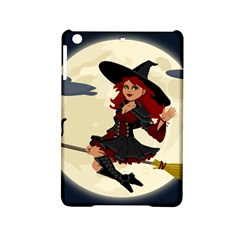 Witch Witchcraft Broomstick Broom iPad Mini 2 Hardshell Cases