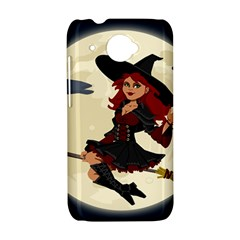 Witch Witchcraft Broomstick Broom HTC Desire 601 Hardshell Case