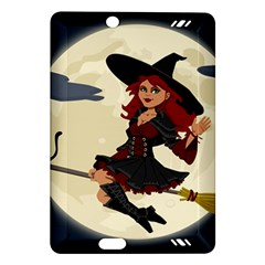 Witch Witchcraft Broomstick Broom Amazon Kindle Fire HD (2013) Hardshell Case