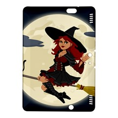 Witch Witchcraft Broomstick Broom Kindle Fire HDX 8.9  Hardshell Case