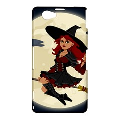 Witch Witchcraft Broomstick Broom Sony Xperia Z1 Compact