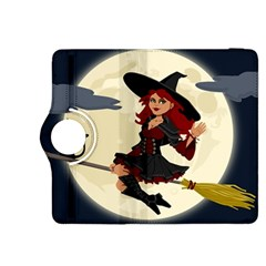 Witch Witchcraft Broomstick Broom Kindle Fire HDX 8.9  Flip 360 Case