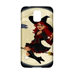 Witch Witchcraft Broomstick Broom Samsung Galaxy S5 Hardshell Case