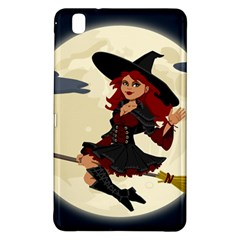 Witch Witchcraft Broomstick Broom Samsung Galaxy Tab Pro 8.4 Hardshell Case