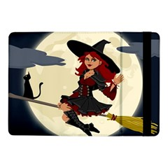 Witch Witchcraft Broomstick Broom Samsung Galaxy Tab Pro 10.1  Flip Case