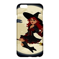 Witch Witchcraft Broomstick Broom Apple iPhone 6 Plus/6S Plus Hardshell Case