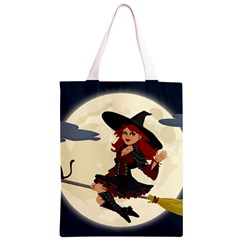 Witch Witchcraft Broomstick Broom Classic Light Tote Bag
