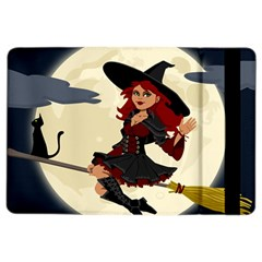 Witch Witchcraft Broomstick Broom iPad Air 2 Flip
