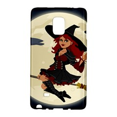 Witch Witchcraft Broomstick Broom Galaxy Note Edge