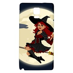 Witch Witchcraft Broomstick Broom Galaxy Note 4 Back Case