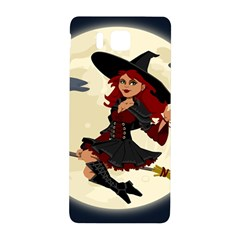 Witch Witchcraft Broomstick Broom Samsung Galaxy Alpha Hardshell Back Case