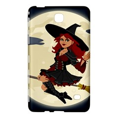 Witch Witchcraft Broomstick Broom Samsung Galaxy Tab 4 (7 ) Hardshell Case