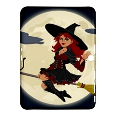 Witch Witchcraft Broomstick Broom Samsung Galaxy Tab 4 (10.1 ) Hardshell Case