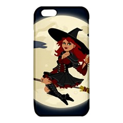 Witch Witchcraft Broomstick Broom iPhone 6/6S TPU Case