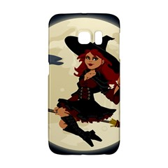 Witch Witchcraft Broomstick Broom Galaxy S6 Edge