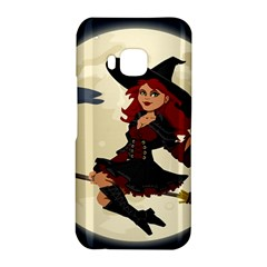 Witch Witchcraft Broomstick Broom HTC One M9 Hardshell Case