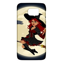 Witch Witchcraft Broomstick Broom Galaxy S6