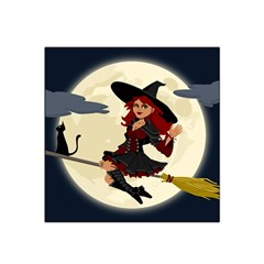 Witch Witchcraft Broomstick Broom Satin Bandana Scarf
