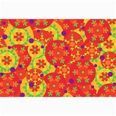 Orange design Collage Prints
