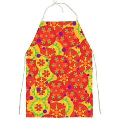 Orange design Full Print Aprons