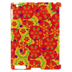 Orange design Apple iPad 2 Hardshell Case (Compatible with Smart Cover)