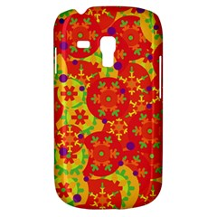 Orange design Samsung Galaxy S3 MINI I8190 Hardshell Case