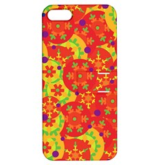 Orange design Apple iPhone 5 Hardshell Case with Stand