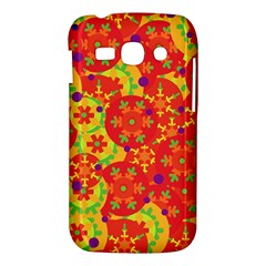 Orange design Samsung Galaxy Ace 3 S7272 Hardshell Case