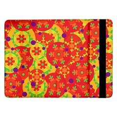 Orange design Samsung Galaxy Tab Pro 12.2  Flip Case