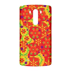 Orange design LG G3 Back Case
