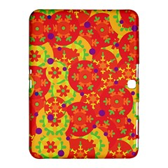 Orange design Samsung Galaxy Tab 4 (10.1 ) Hardshell Case