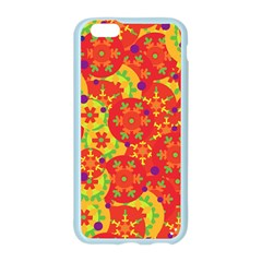 Orange design Apple Seamless iPhone 6/6S Case (Color)