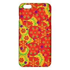 Orange design iPhone 6 Plus/6S Plus TPU Case