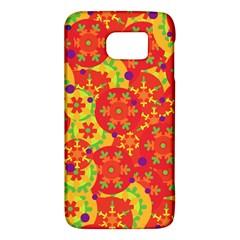 Orange design Galaxy S6