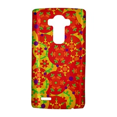 Orange design LG G4 Hardshell Case
