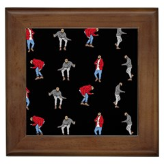 Drake Ugly Holiday Christmas Framed Tiles
