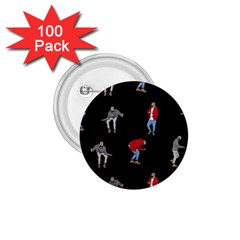 Drake Ugly Holiday Christmas 1.75  Buttons (100 pack)