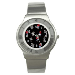 Drake Ugly Holiday Christmas Stainless Steel Watch