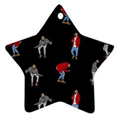 Drake Ugly Holiday Christmas Star Ornament (Two Sides)