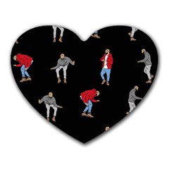 Drake Ugly Holiday Christmas Heart Mousepads